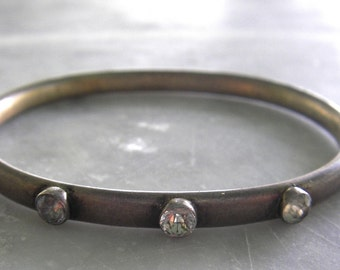 Edwardian sterling  bangle