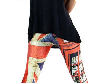 British leggings - Funkyleggzis trip to London - sizes s, m, l, xl