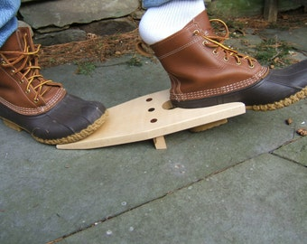 Wooden Boot Jack hand crafted from Maple & Cherry