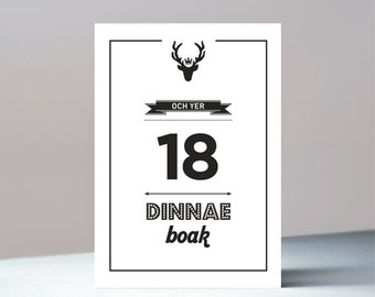 Och yer 18 - Scottish birthday greetings card
