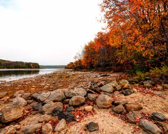 "Fine Art Photography Print- ""Quabbin in Fall"""