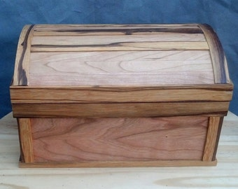 Solid wood box Etsy