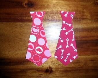 SALE Valentines day appliqué duo