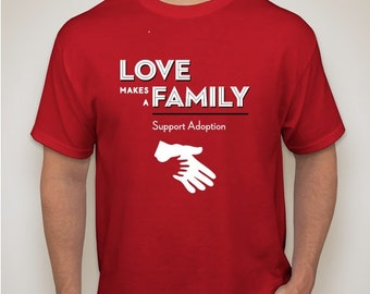 Support Adoption T-Shirt