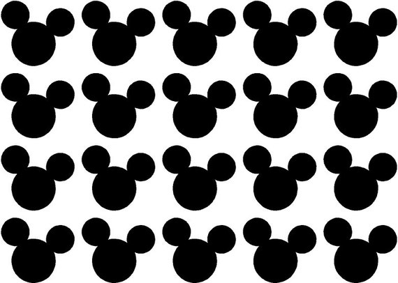 Mickey Mouse Ears A Choose Quantity and by BillysAmazingDeals