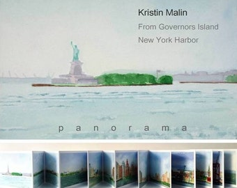 From Governors Island to New York Harbor: A Panorama Book (unsigned)