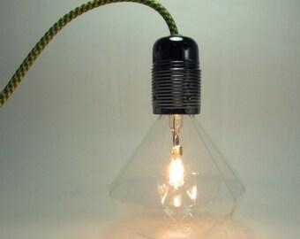 Diamond Bulb Pendant Light - led lamp - diamond bulb - DIY lamp set - hanging lamp - ceiling lamp - modern lamp - home decor
