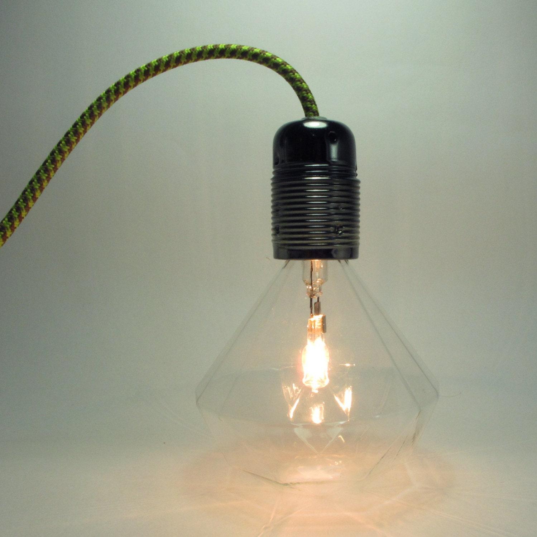 Hanging Lamp Led: Diamond Bulb Pendant Light Led Lamp Diamond Bulb DIY