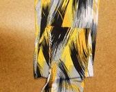 ART  Womens Thigh High Stockings  M/L Size/OOAK/ Hipi,Colorful/endladesign