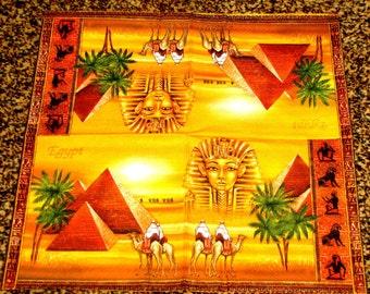 "6 Decoupage Egypt Napkins 33x33 cm. 13""x13"" 6 pcs"