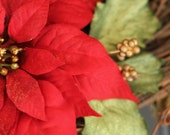 Poinsettia, Still Life Photography, flower picture, nature photography, wall art, christmas decoration, holiday decoration - JennyLauraPictures