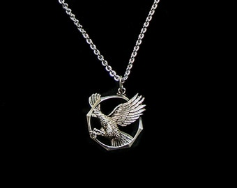 Majestic Eagle Pendant, men's pendant on chain