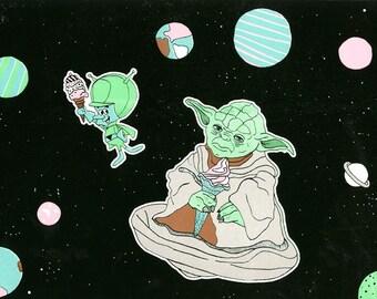 Big Lizzie and Yoda