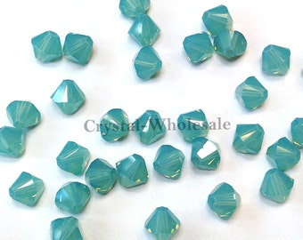 Pacific Opal (390) Swarovski Elements 5328 / 5301 3mm Crystal Xilion Bicone Beads ** FREE Shipping