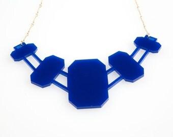 Fin de Siècle: Renaissance Necklace Lapis Lazuli