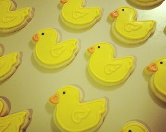 Duck Sugar Cookies: 1 Dozen