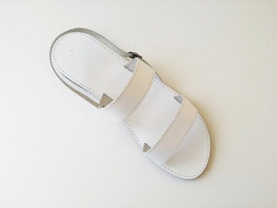 mens white sandals