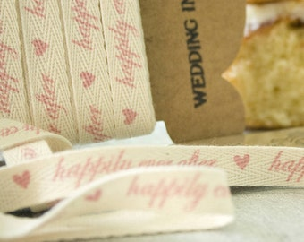 Happily Ever After Cotton Ribbon