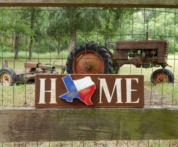 Rustic Texas Home Sign Texas Home Rustic Home by