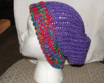 Knit hat, Slouch style