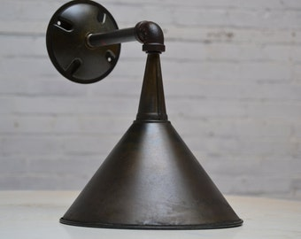 Exterior Wall Sconce Industrial Light Fixture Metal Architectural Lighting