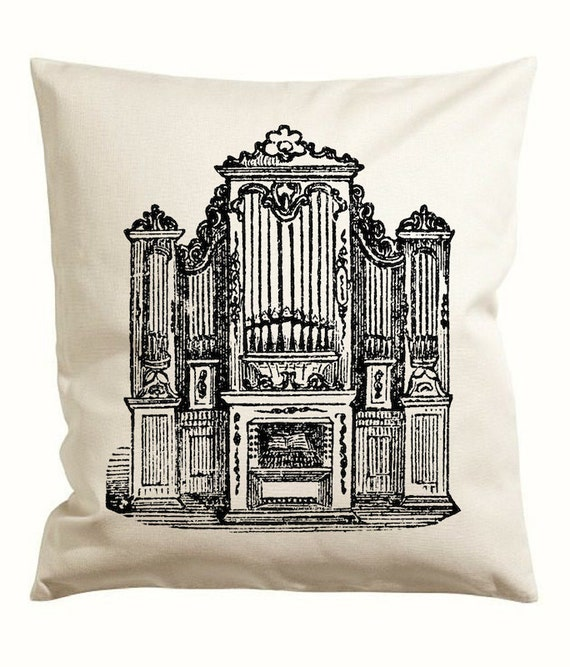 Church Organ Vector Clipart Graphic instant Download, Pipe ...