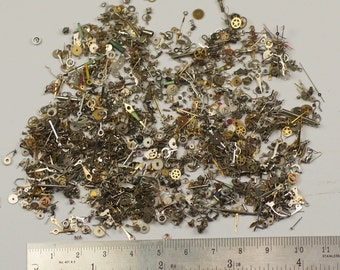 25g Tiny small micro steampunk from 1mm Watch parts ARTS CRAFTS ALTERED cogs