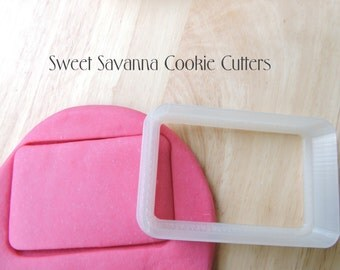 Rounded Rectangle Cookie Cutters- Different Sizes Available