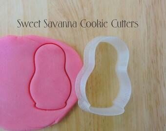 Matryoshka / Russian Doll Cookie Cutter-