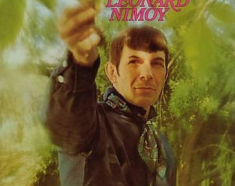 1969 The Touch Of LEONARD NIMOY LP, Star Trek, Celebrity Vocals Vinyl Record