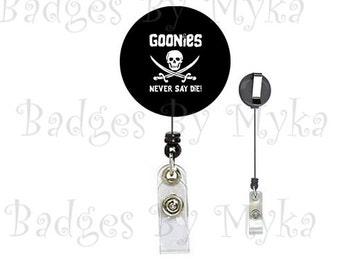 Retractable ID Badge Holder - Goonies