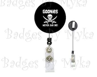 Retractable ID Badge Holder - Goonies