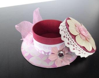 Something Pink, Cute Trinket or Jewellery box