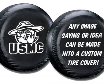 Spare Tire Cover Custom Tire Cover Vinyl Full Color Print