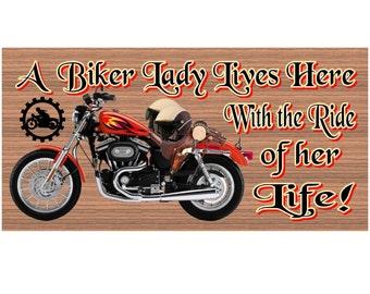 Motorcycle Wood Signs  - Handmade Wood sign, Motorcycle GS1249 Motorcycle wood sign, Motorcycle plaque