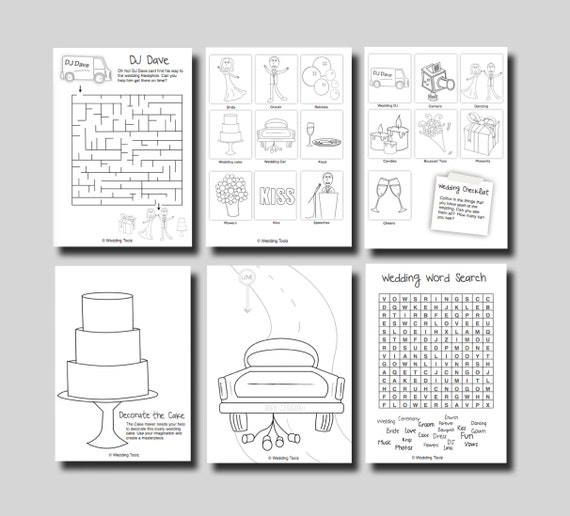 Modest image for printable activity books