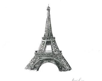 Eiffel Tower : Print