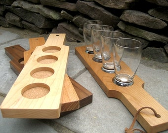 Beer Flight - Custom Beer Paddle - Father's Day - Personalized Beer Flight- Engraved Beer Paddle - Personalized Groomsman Gift