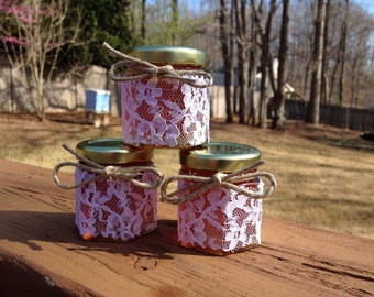 70 Qty Mini Honey Jars Favors with tags 1.5oz for Weddings,Bridal Showers,Birthday Party