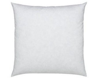 14x14 Feather Down Square Pillow Insert - FREE SHIPPING