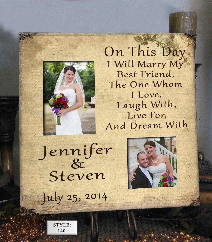 Wedding Gift For Bride From Best Friend: FRIEND Wedding Gift For Couple Wedding Gift By