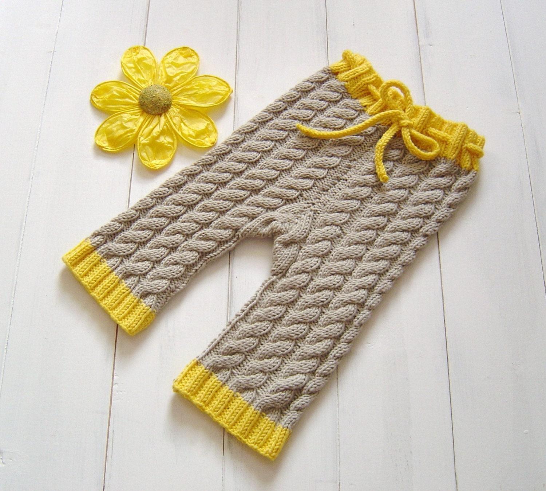 KNITTING PATTERN Baby Pants Aran Baby Knitting by matildasmeadow