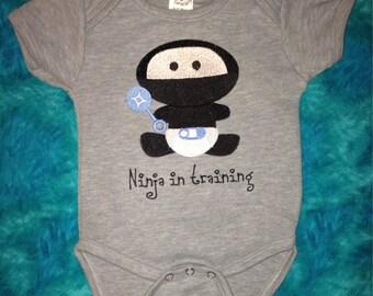 Ninja in Training Body suit