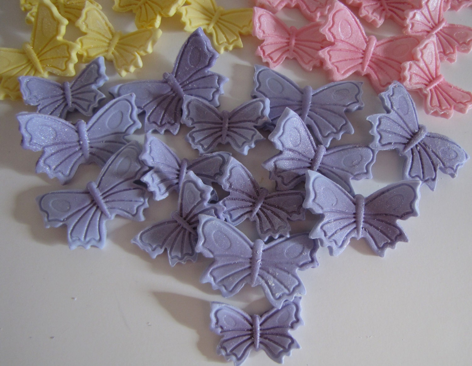 Fondant Butterfly Cake Decorations Butterfly Cake Toppers