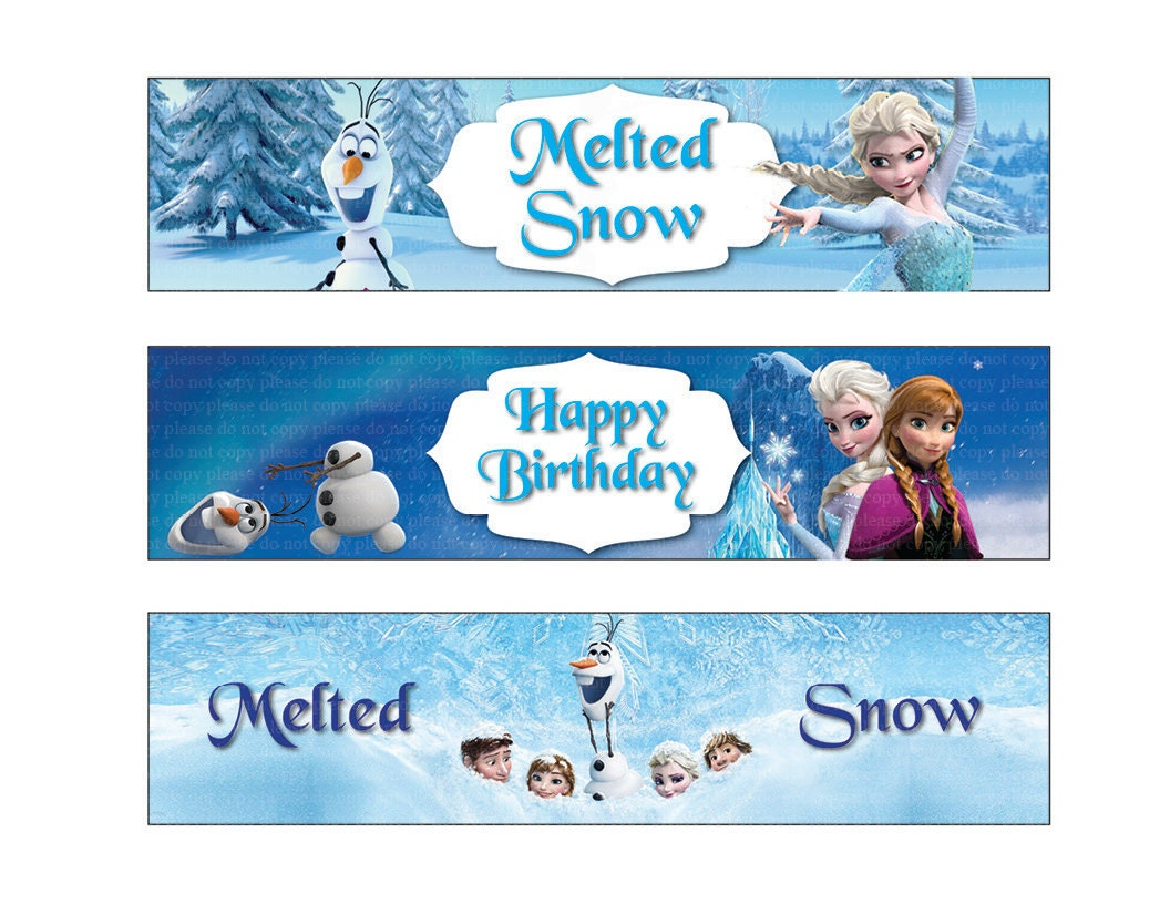 This is a graphic of Candid Frozen Printable Labels