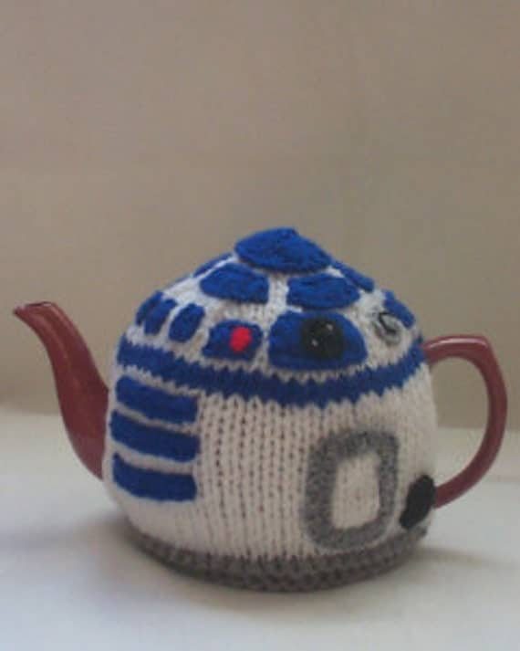 Knitting Pattern For Yoda Tea Cosy : StarWars R2D2 Tea Cosy Knitting Pattern