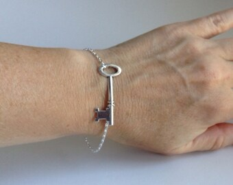 Steampunk Skeleton Key Bracelet