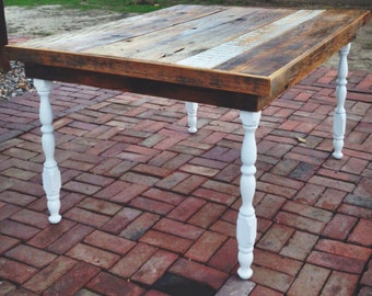 """Reclaimed Dinning Table 44"""" x 55"""""""