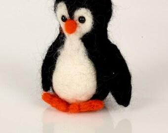 Penguin Needle Felting Kit