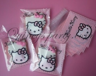 Hello kitty treat bags